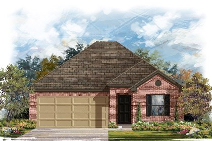 New Homes in Del Valle, TX - Plan E-1591 B