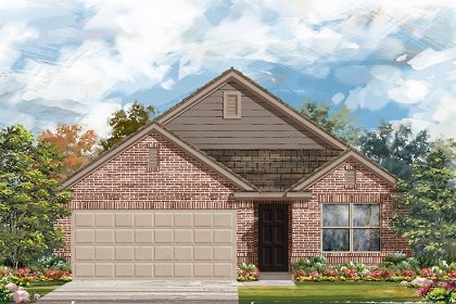 New Homes in Del Valle, TX - Plan E-1647 C