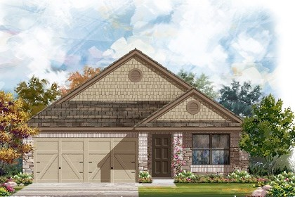 New Homes in Del Valle, TX - Plan E-1647 D