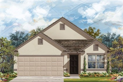 New Homes in Del Valle, TX - Plan E-1647 E