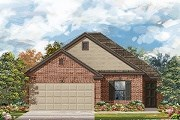 New Homes in Del Valle, TX - Plan E-1694 Modeled