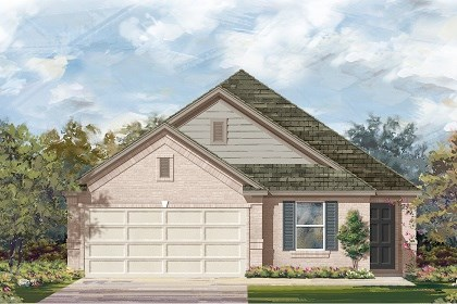 New Homes in Del Valle, TX - Plan E-1892 C
