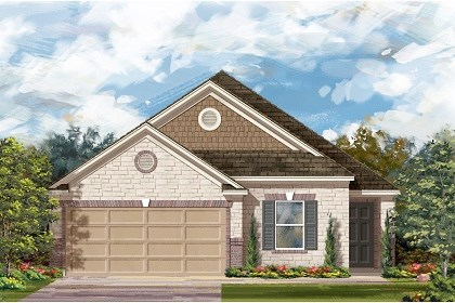 New Homes in Del Valle, TX - Plan E-1892 D