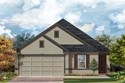 New Homes in Del Valle, TX - Plan E-1892