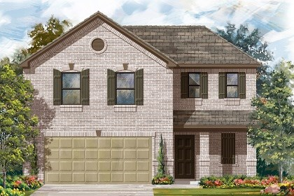 New Homes in Del Valle, TX - Plan E-1895 C
