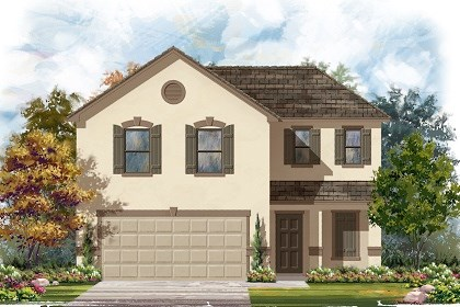 New Homes in Del Valle, TX - Plan E-1895 E
