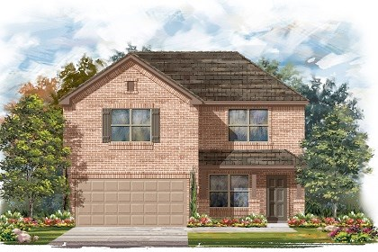 New Homes in Del Valle, TX - Plan E-2177 C