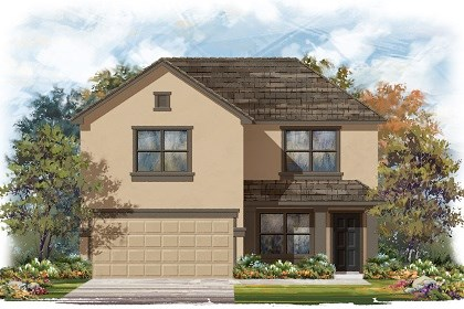 New Homes in Del Valle, TX - Plan E-2177 E