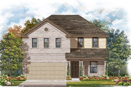 New Homes in Del Valle, TX - Plan E-2403 C