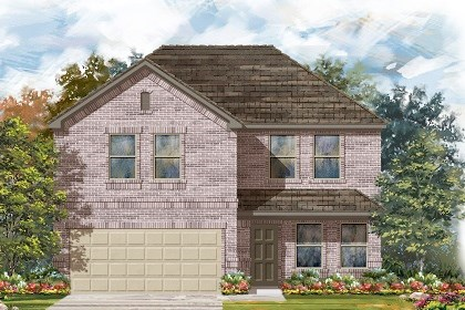 New Homes in Del Valle, TX - Plan E-2561 C