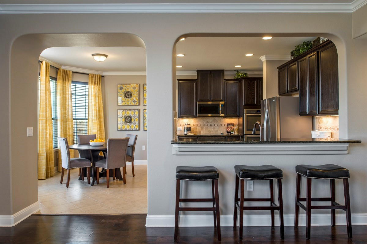 New Homes in Del Valle, TX - The Trails at Stoney Ridge Plan E-2177 Kitchen