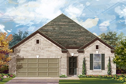 New Homes in Taylor, TX - Plan A-1965 A