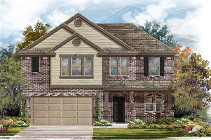 New Homes in Taylor, TX - Plan A-2183 B