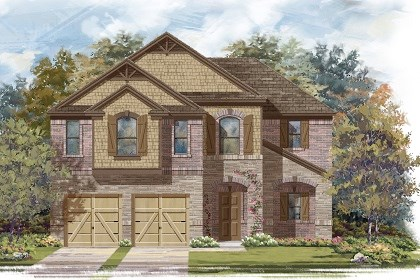 New Homes in Taylor, TX - Plan A-2183 C