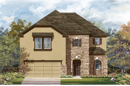 New Homes in Taylor, TX - Plan A-2183 D