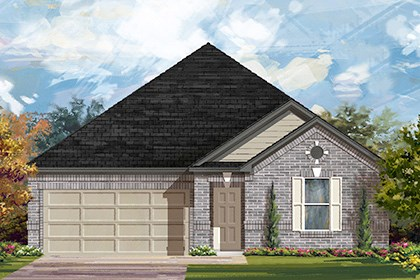 New Homes in Taylor, TX - Plan A-2382 A