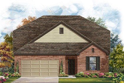 New Homes in Taylor, TX - Plan A-2655 A