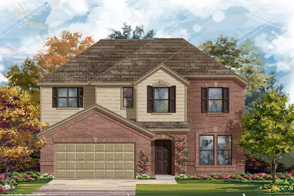 New Homes in Taylor, TX - Plan A-2797 A