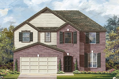 New Homes in Taylor, TX - Plan A-2797 B