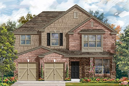 New Homes in Taylor, TX - Plan A-2797 C