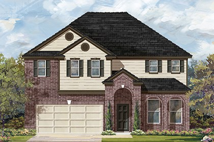New Homes in Taylor, TX - Plan A-3023 A