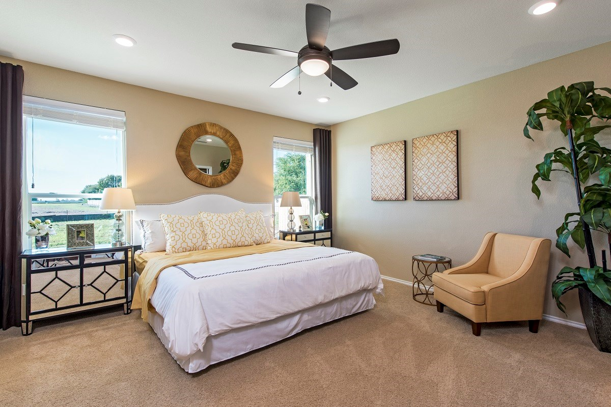 New Homes in Taylor, TX - Summerfield Plan A-2655 Master Bedroom