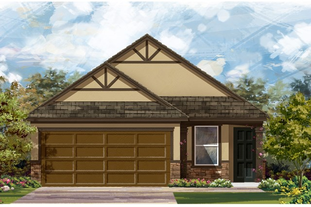 New Homes in Del Valle, TX - Plan F-1585 J