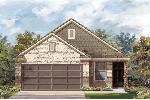 New Homes in Del Valle, TX - Plan F-1585 K