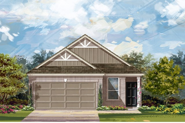 New Homes in Del Valle, TX - Plan F-1585 L