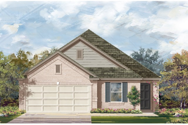 New Homes in Del Valle, TX - Plan E-1892 I