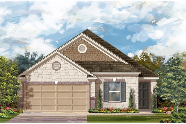 New Homes in Del Valle, TX - Plan E-1892 J