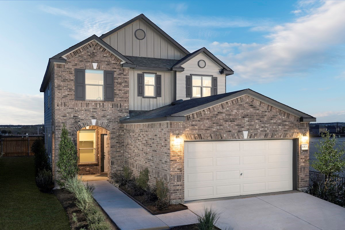 New Homes in Del Valle, TX - Sundance Crossing Plan 2411