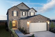 New Homes in Del Valle, TX - Plan 2411 Modeled