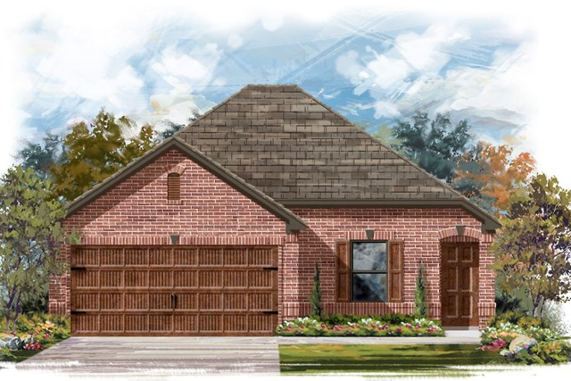 New Homes in Round Rock, TX - Plan E-1516 H