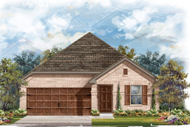 New Homes in Round Rock, TX - Plan E-1647 H