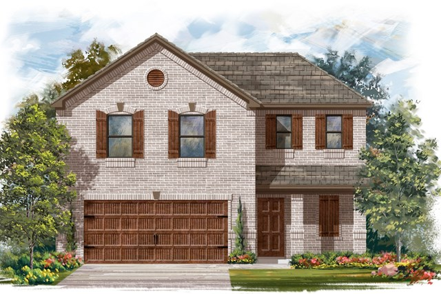 New Homes in Round Rock, TX - Plan E-1895 I