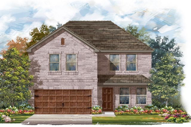 New Homes in Round Rock, TX - Plan E-2561 C