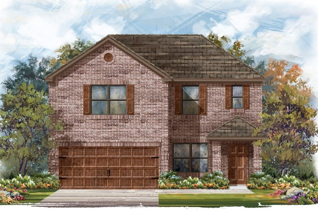 New Homes in Round Rock, TX - Plan E-2177 H