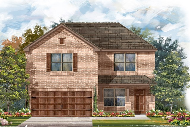 New Homes in Round Rock, TX - Plan E-2177 I