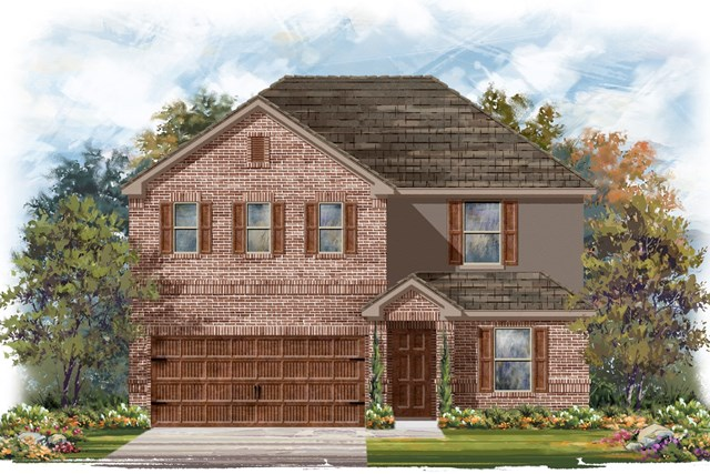 New Homes in Round Rock, TX - Plan E-2403 H