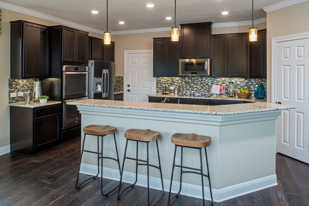 New Homes in Round Rock, TX - Sunrise Villas Plan E-2403 Kitchen