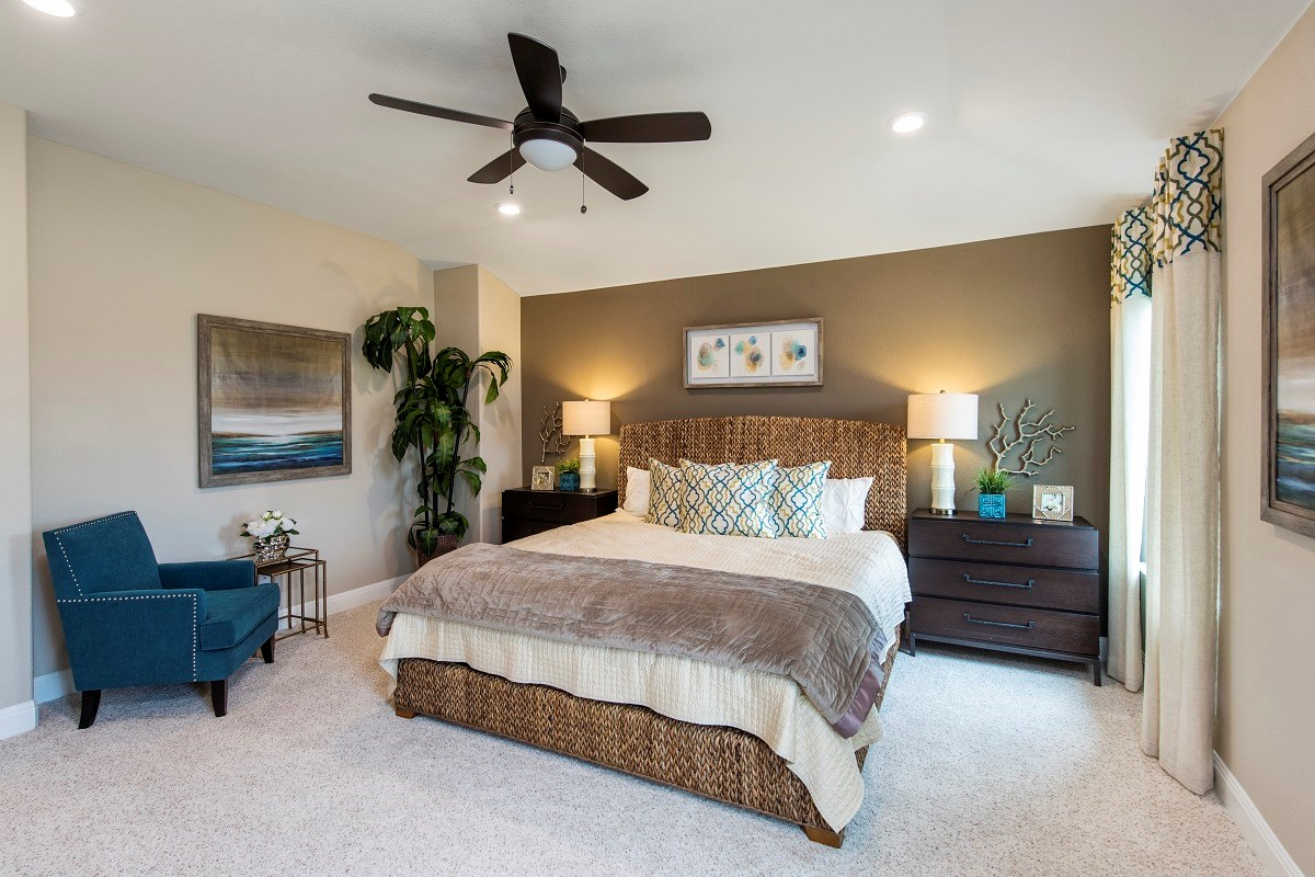 New Homes in Round Rock, TX - Sunrise Villas Plan E-2403 Master Bedroom