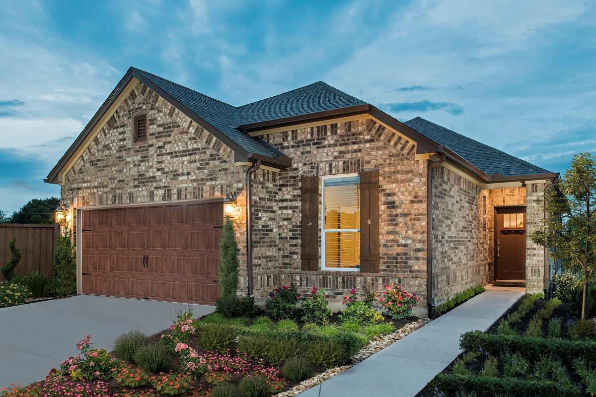 New Homes in Round Rock, TX - Sunrise Villas Plan E-1694