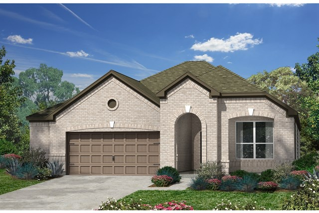 New Homes in Kyle, TX - Plan A-1792 B
