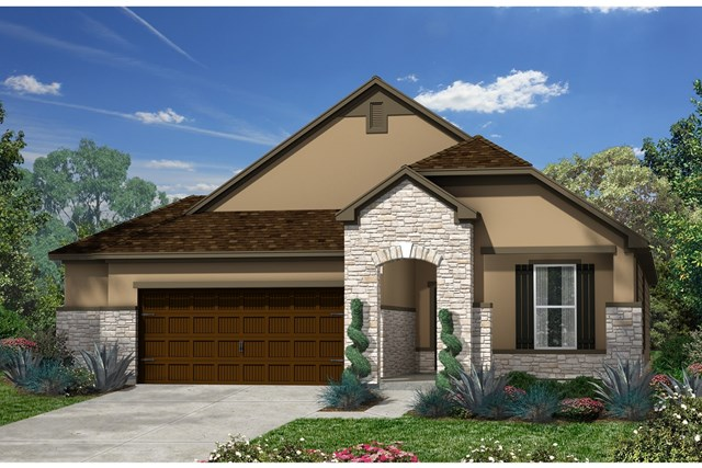 New Homes in Kyle, TX - Plan A-1792 D