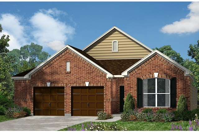 New Homes in Kyle, TX - Plan A-1852 A