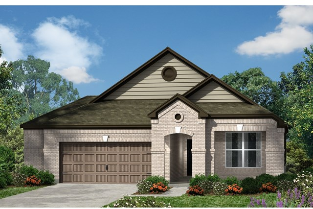 New Homes in Kyle, TX - Plan 1965 B