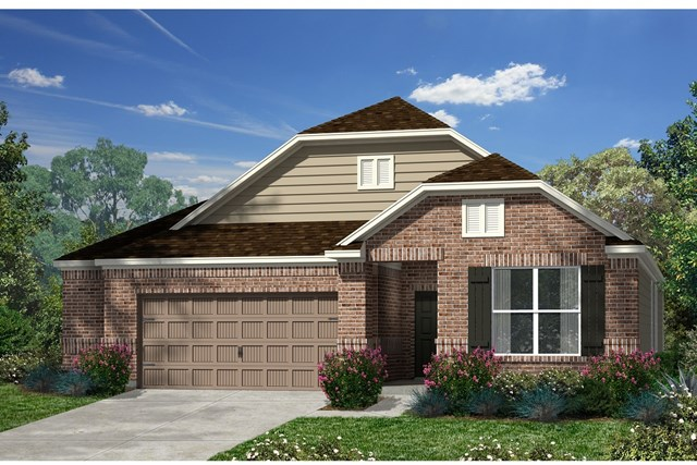 New Homes in Kyle, TX - Plan A-1996 B