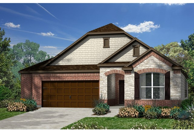 New Homes in Kyle, TX - Plan A-1996 C