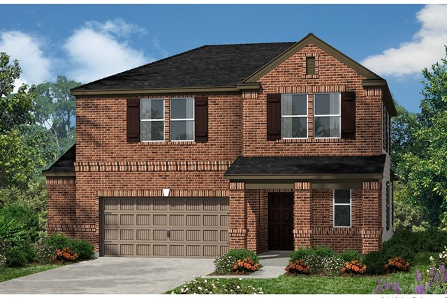 New Homes in Kyle, TX - Plan E-2412 I